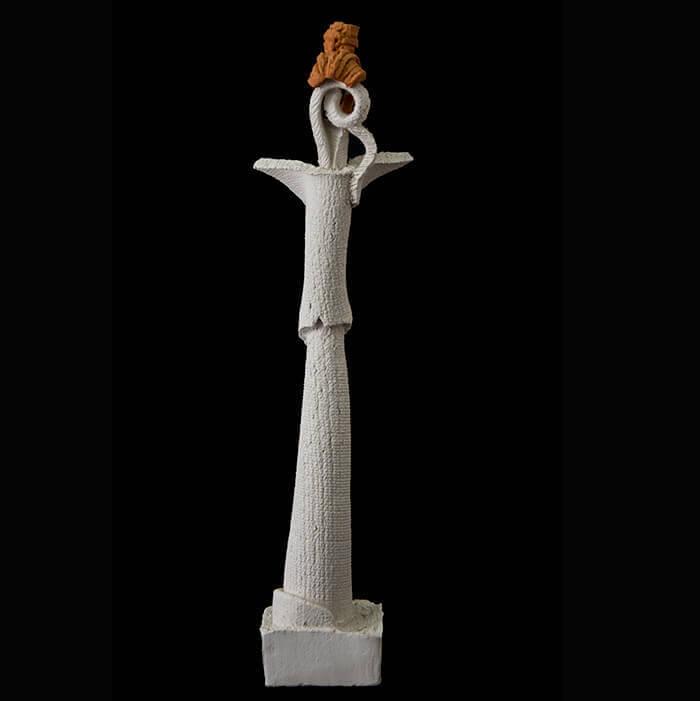 Fen Mugüerza - escultora ceramista - Taller de arte en Ourense - Mujer Himba