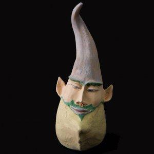Fen Mugüerza - escultora ceramista - Taller de arte en Ourense - PIEZA ÚNICA de Terracota, es un regalo exclusivo y un regalo original. Cerámica contemporánea realizada en barro, cocida y pintada con engobes
