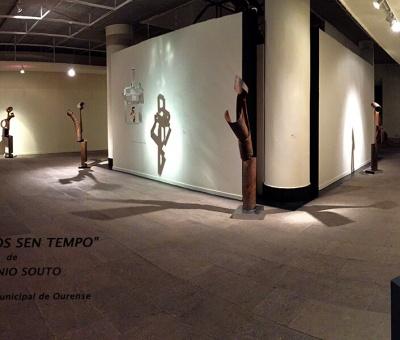 Antonio Souto, escultura en el Museo Municipal de Ourense