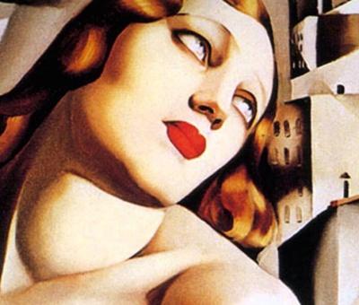 El arte femenino de Tamara de Lempicka