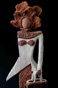 Fen Mugüerza - escultora ceramista - Taller de arte en Ourense -