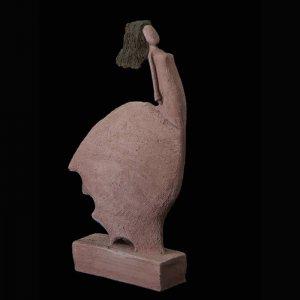 Fen Mugüerza - escultora ceramista - Taller de arte en Ourense - Al viento
