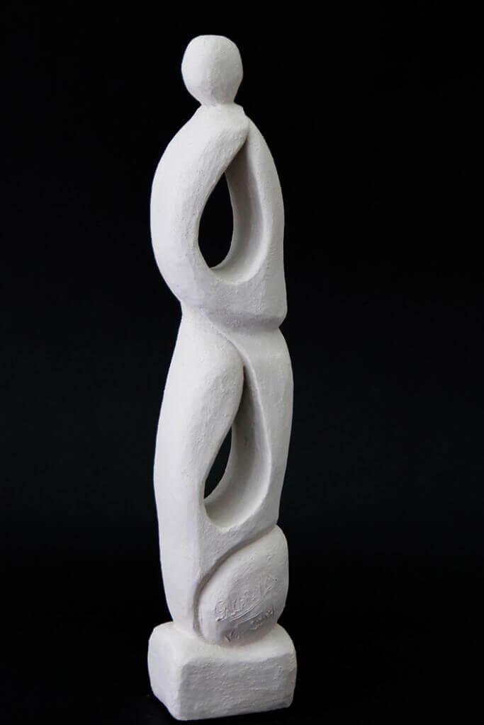 Fen Mugüerza - escultora ceramista - Taller de arte en Ourense - Alma libre