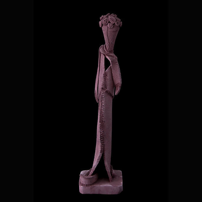 Fen Mugüerza - escultora ceramista - Taller de arte en Ourense - El mago