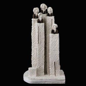 Fen Mugüerza - escultora ceramista - Taller de arte en Ourense - el coro