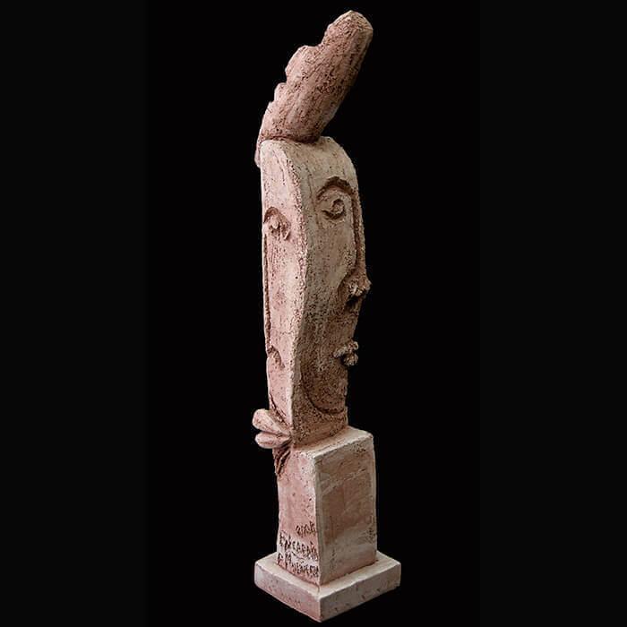 Fen Mugüerza - escultora ceramista - Taller de arte en Ourense - Equilibrio