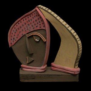 PIEZA ÚNICA de Terracota, es un regalo exclusivo, un regalo original, regalo de boda original y exclusivo. . Cerámica contemporánea realizada en barro, arcilla o pasta refractaria.