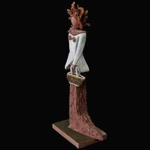 PIEZA ÚNICA de Terracota, es un regalo exclusivo y un regalo original. Regalo para una boda especial. Cerámica contemporánea