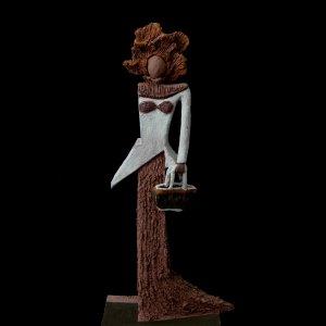 Fen Mugüerza - escultora ceramista - Taller de arte en Ourense - PIEZA ÚNICA de Terracota, es un regalo exclusivo y un regalo original. Cerámica contemporánea