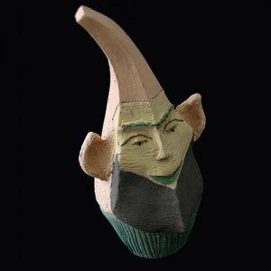 PIEZA ÚNICA de Terracota, es un regalo exclusivo y un regalo original. Cerámica contemporánea realizada en barro, cocida y pintada con engobes
