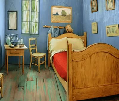 """Cómo pasar una noche en """"El Dormitorio en Arlés""""  de Van Gogh por 9 €"""
