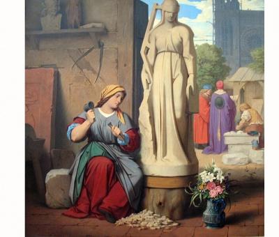 Sabina von Steinbach la primera mujer escultora