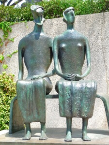 Henry Moore: King and Queen