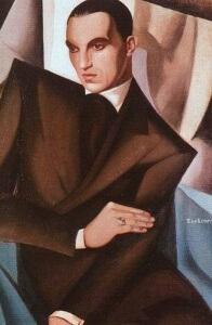 Portrait of Marquis Sommi